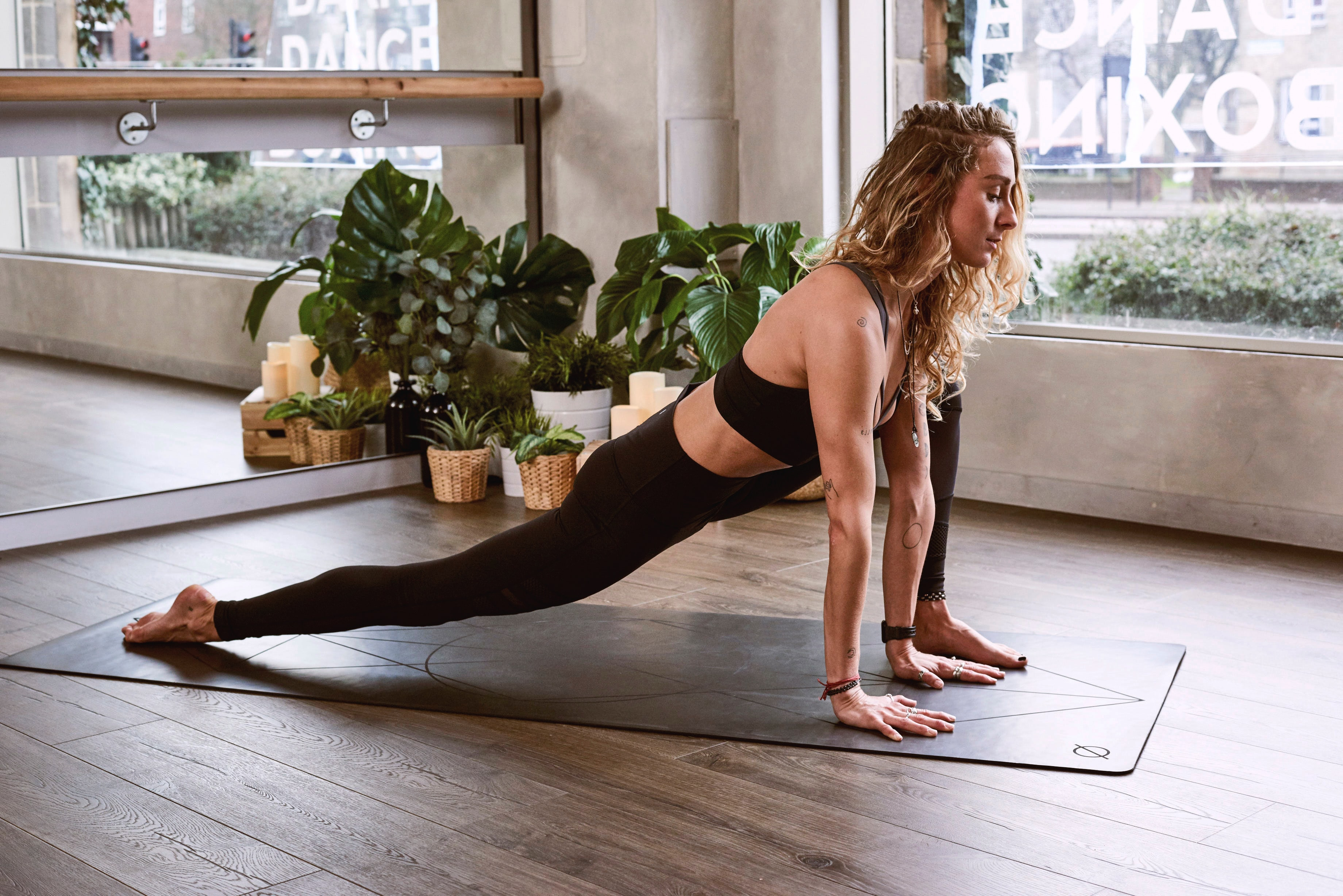 femme sport confinement fitness